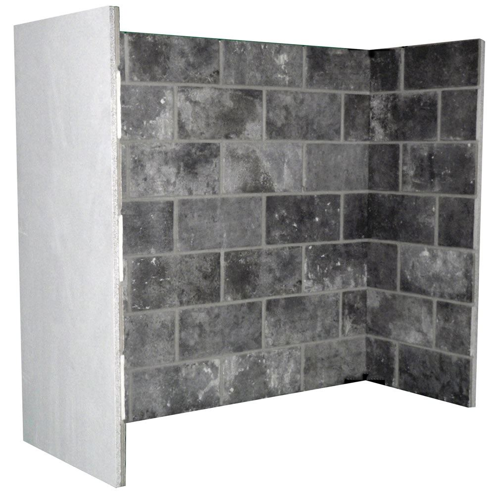 Grey Block Bond Ignlenook Chamber